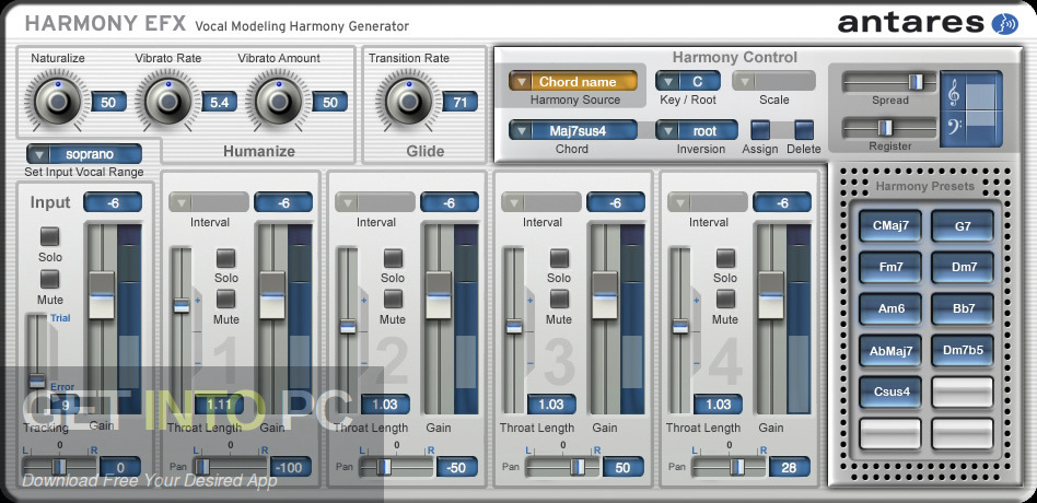 Harmony Engine VST Latest Version Download-GetintoPC.com