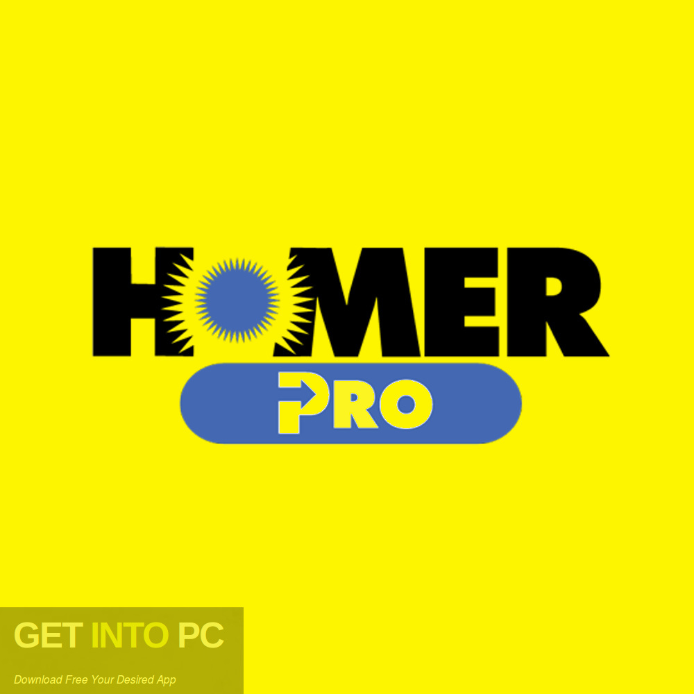 Homer Pro Free Download-GetintoPC.com