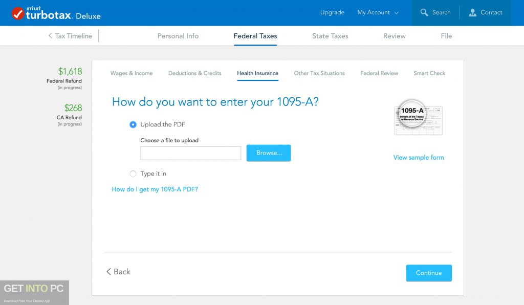 Intuit TurboTax Deluxe Business 2018 Offline Installer DOwnload-GetintoPC.com