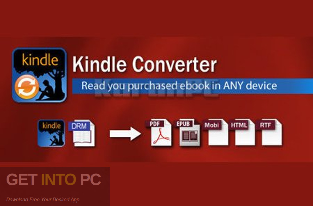 Kindle Converter Free Download-GetintoPC.com