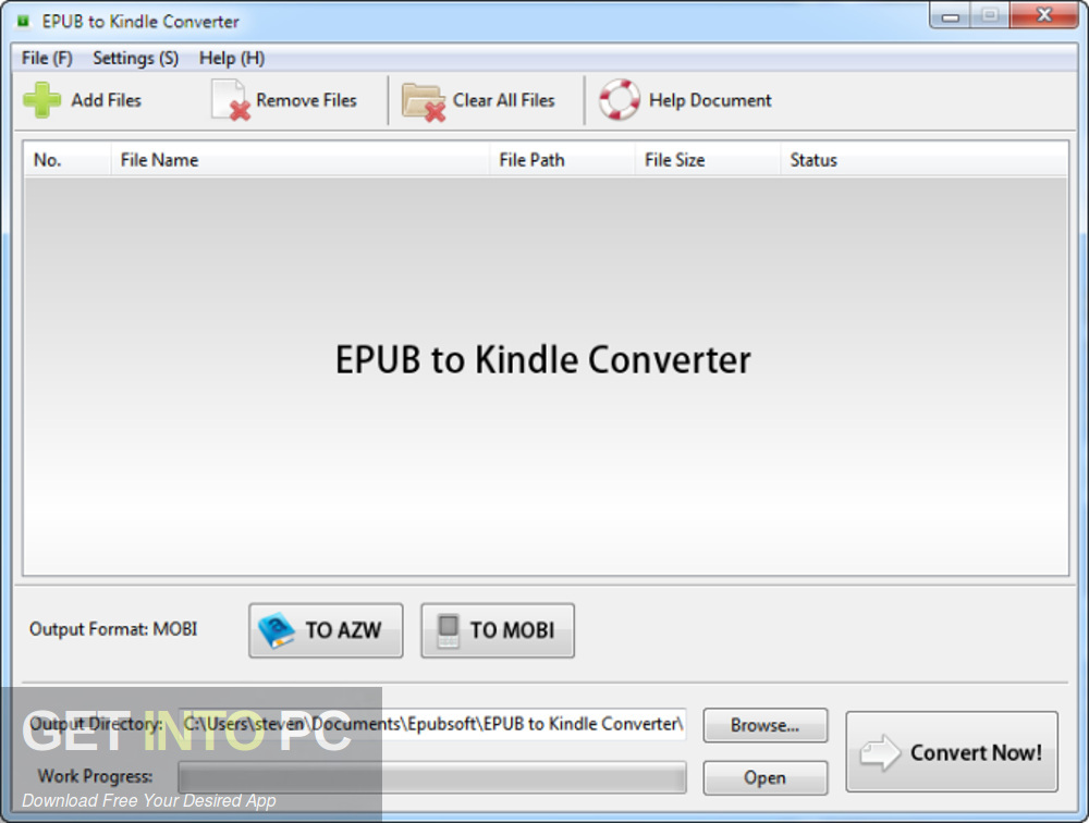 Kindle Converter Offline Installer Download-GetintoPC.com