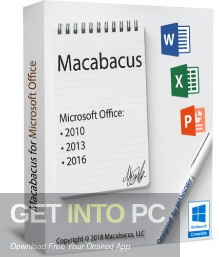 Macabacus for Microsoft Office Free Download-GetintoPC.com