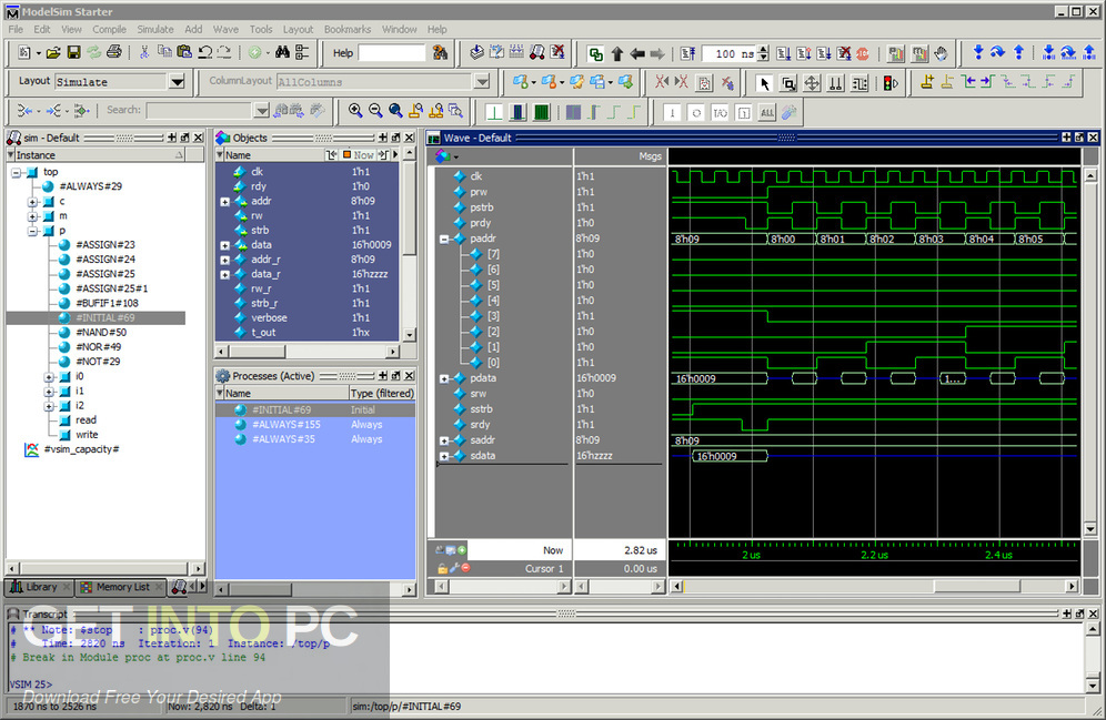 Mentor Graphics QuestaSim Latest Version DOwnload-GetintoPC.com