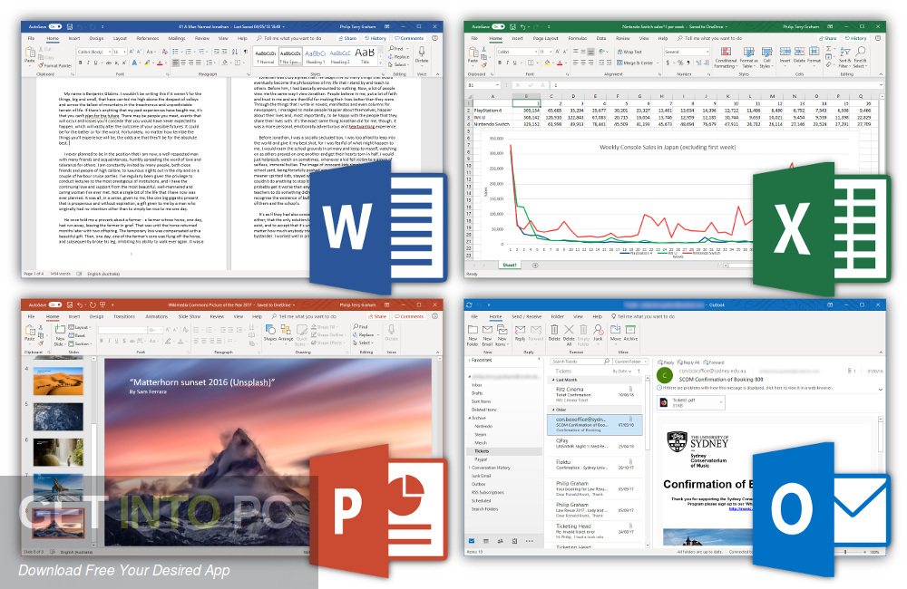 Microsoft Office 2019 for Mac Offline Installer Download-GetintoPC.com