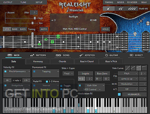 MusicLab RealEight Latest Version Download-GetintoPC.com