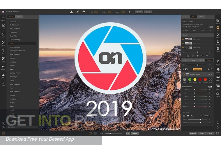 ON1 Photo RAW 2019 Free Download-GetintoPC.com