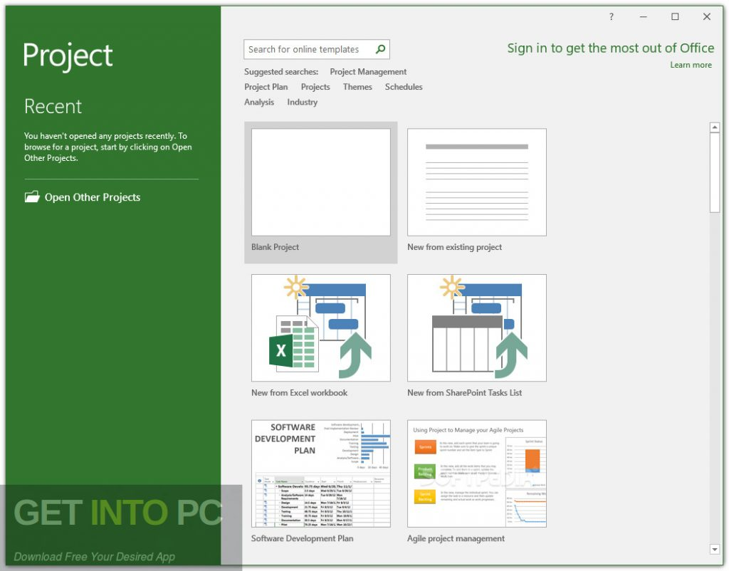 Office Project Professional 2019 Direct Link Download-GetintoPC.com