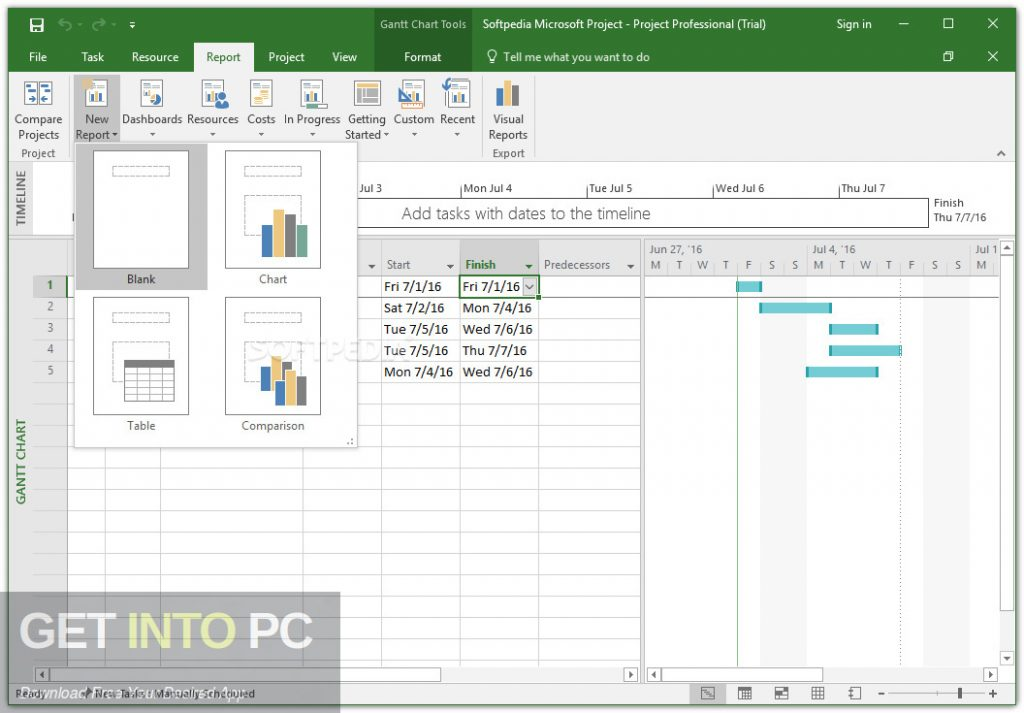 Office Project Professional 2019 Latest Version Download-GetintoPC.com