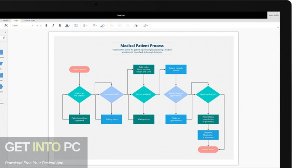 Office Visio Professional 2019 Direct Link Download-GetintoPC.com