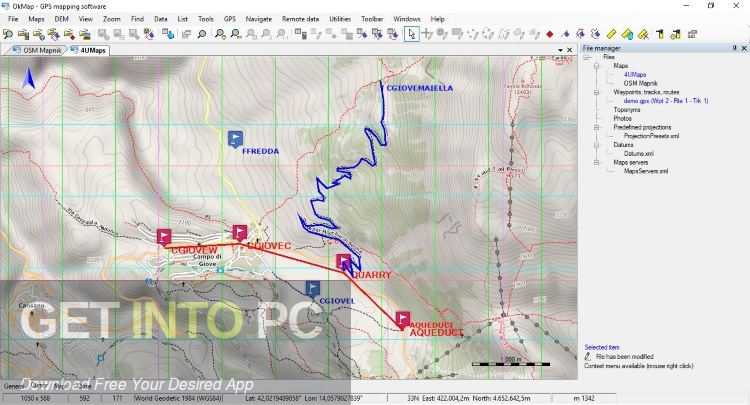 OkMap Desktop 14 Direct Link Download-GetintoPC.com
