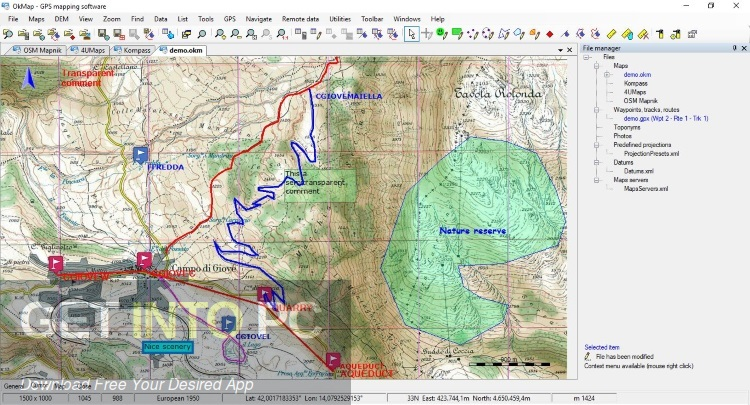 OkMap Desktop 14 Latest Version Download-GetintoPC.com