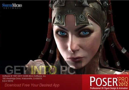 Poser Pro 2012 Free Download-GetintoPC.com