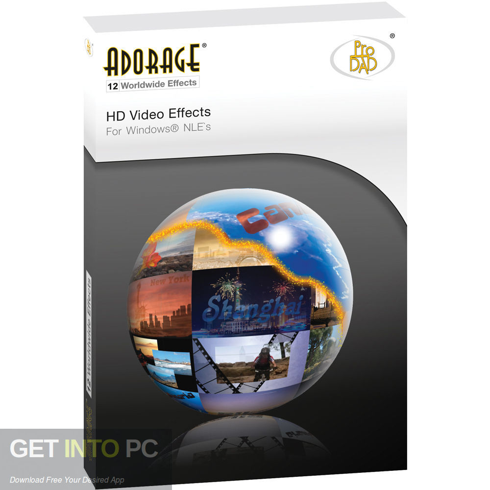 ProDAD Adorage Effects Package Free Download-GetintoPC.com