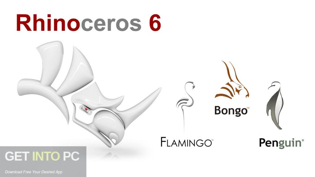 Rhinoceros 4 Addons Flamingo Penguin Bongo Free Download-GetintoPC.com