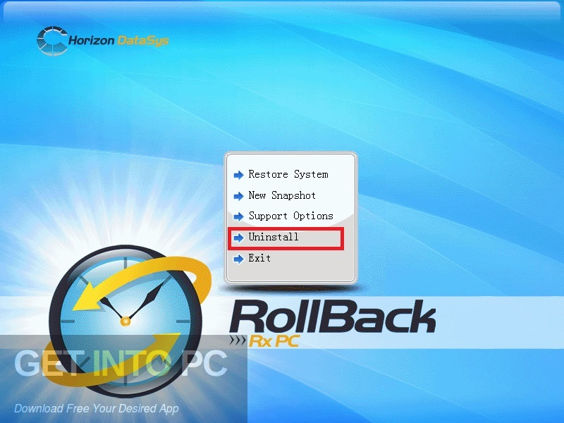 RollBack Rx Professional Free Download-GetintoPC.com