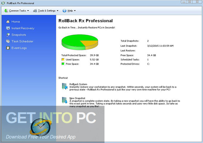 RollBack Rx Professional Latest Version Download-GetintoPC.com