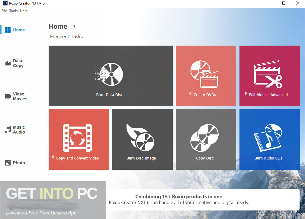 Roxio Creator NXT Pro 6 Latest Version Download-GetintoPC.com