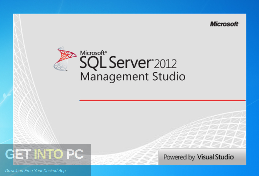 SQL Server 2012 EManagement Studio Free Download-GetintoPC.com