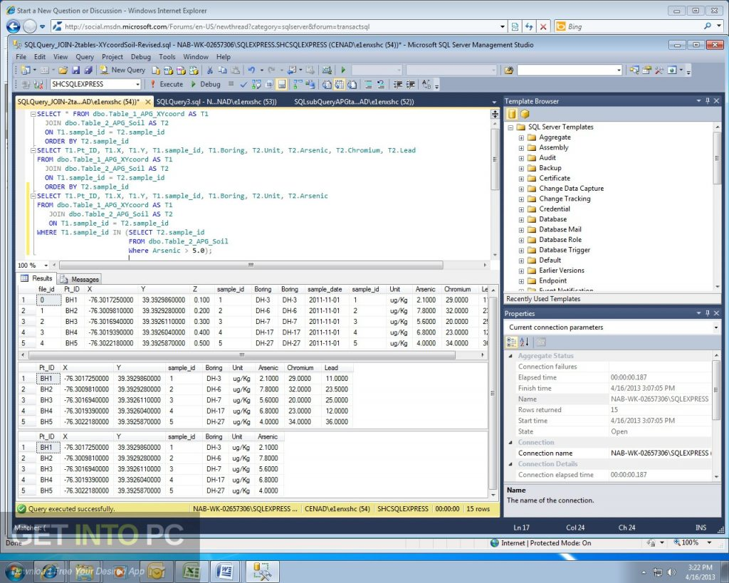 SQL Server 2012 EManagement Studio Latest Version Download-GetintoPC.com