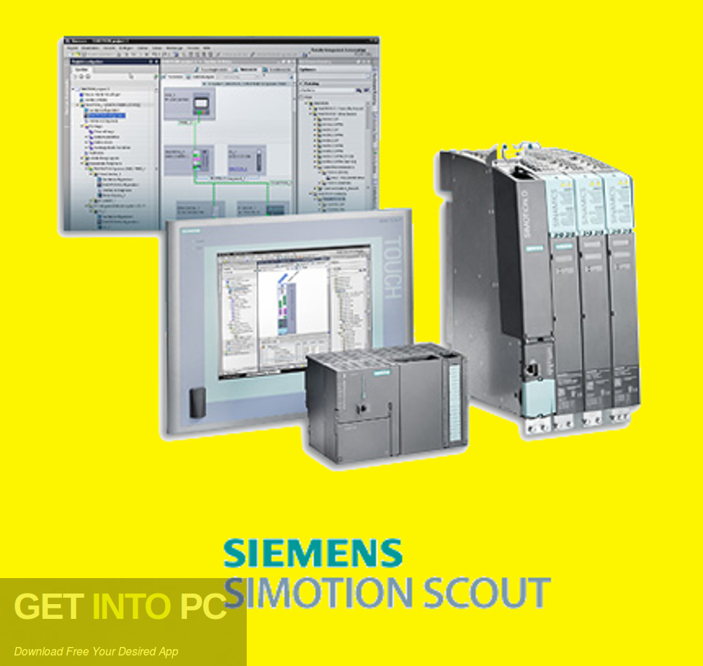 Siemens SIMOTION SCOUT 5.2 Free Download-GetintoPC.com