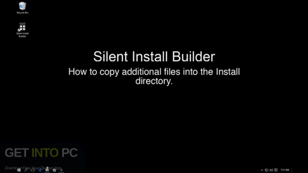Silent Install Builder Free Download-GetintoPC.com