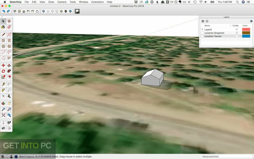 SketchUp Pro 2018 for MacOS Offline Installer DOwnload-GetintoPC.com