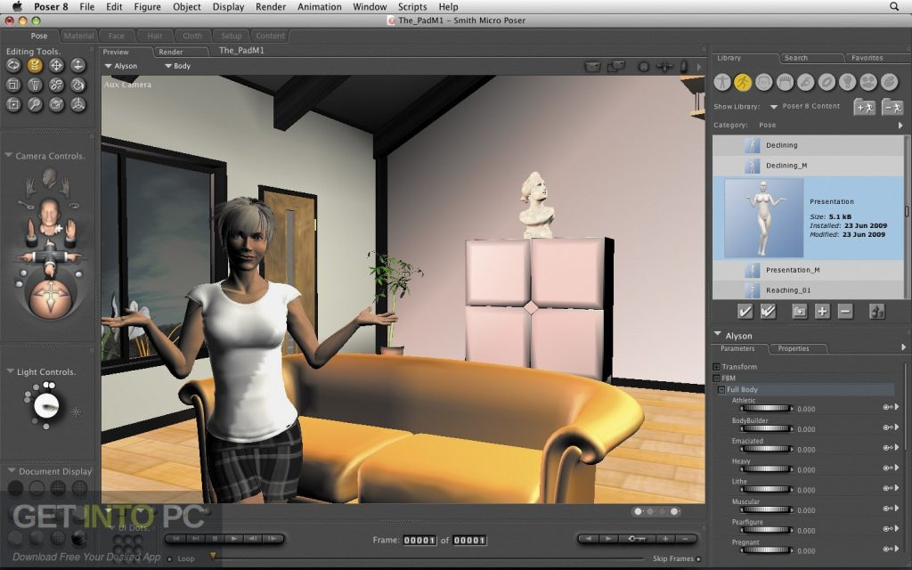 Smith Micro Poser Pro v11 + Content + Plugins Offline Installer Download-GetintoPC.com