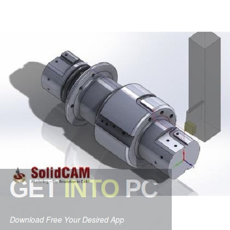 SolidCAM 2018 for SolidWorks 2012-2019 Free Download-GetintoPC.com