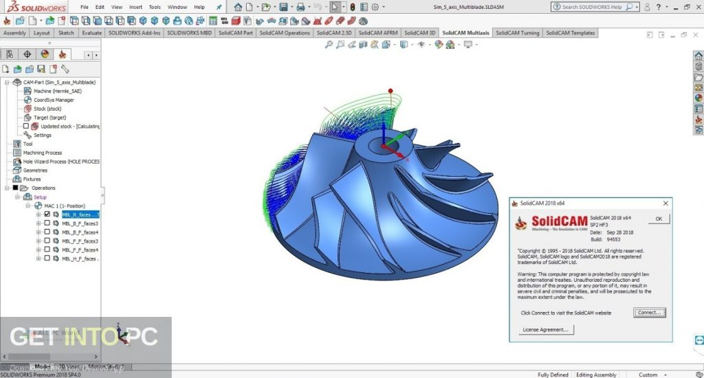 SolidCAM 2018 for SolidWorks 2012-2019 Latest Version Download-GetintoPC.com