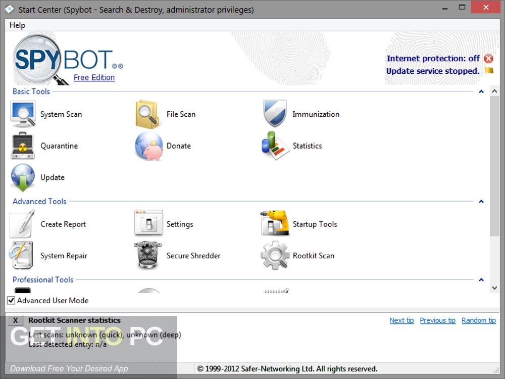 Spybot search and destroy download home
