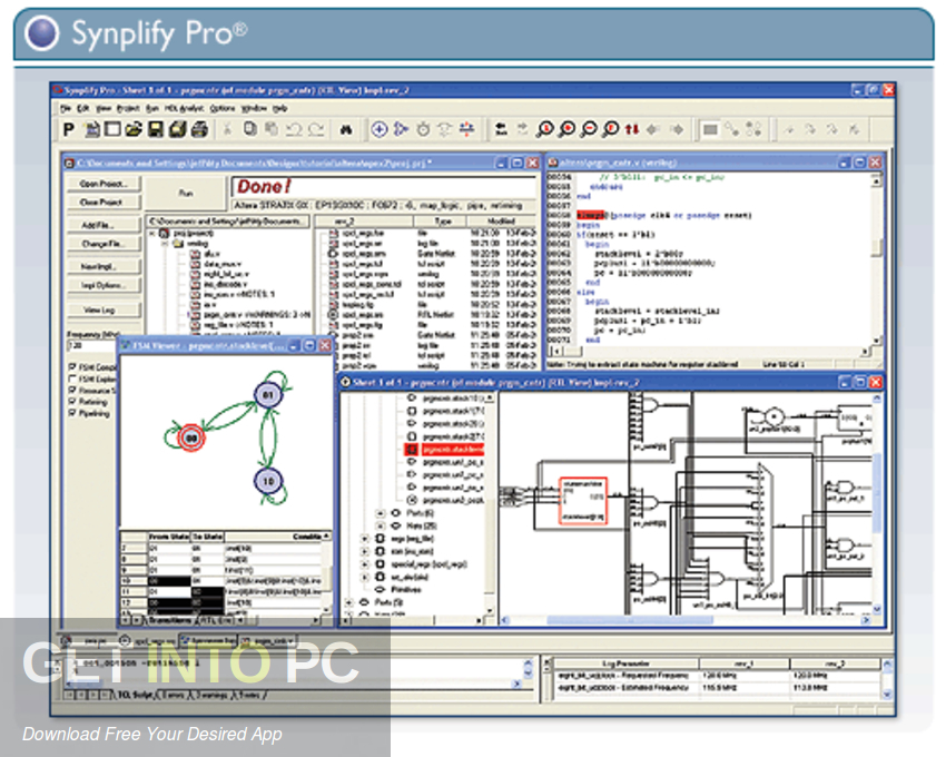 Synopsys Synplify with Design Planner 2016 Latest Version Download-GetintoPC.com