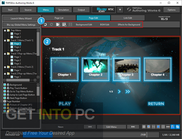 TMPGEnc Authoring Works 6 Offline Installation Download-GetintoPC.com