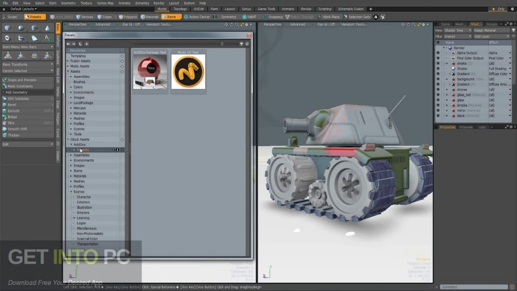 The Foundry MODO 11.2 V2 with Content Latest Version Download-GetintoPC.com