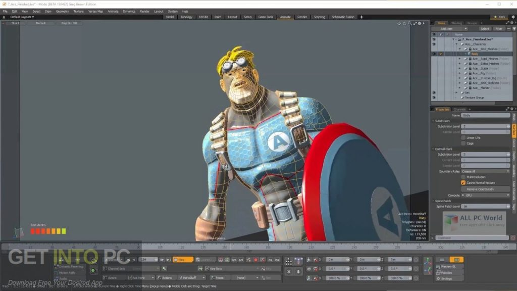 The Foundry MODO 12.1 Offline Installer Download-GetintoPC.com