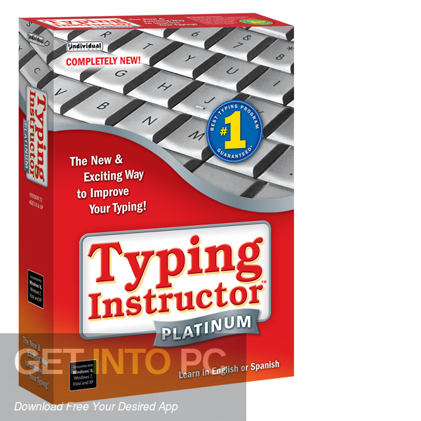 Typing Instructor Platinum Free Download-GetintoPC.com