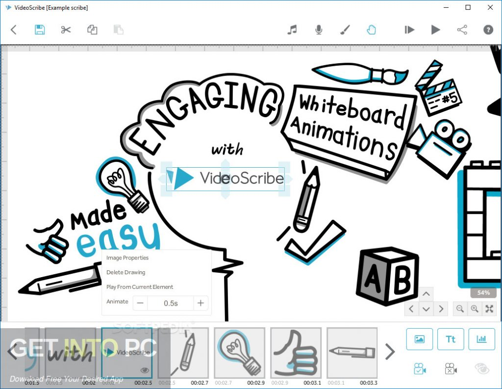Videoscribe Pro 3.0.5 Direct Link Download-GetintoPC.com