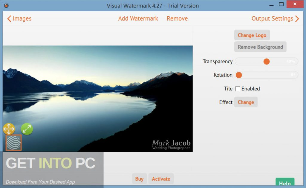 Visual Watermark Offlinr Installer Download-GetintoPC.com