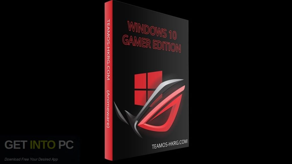 Windows 10 Gamer Edition 2018 Free Download-GetintoPC.com