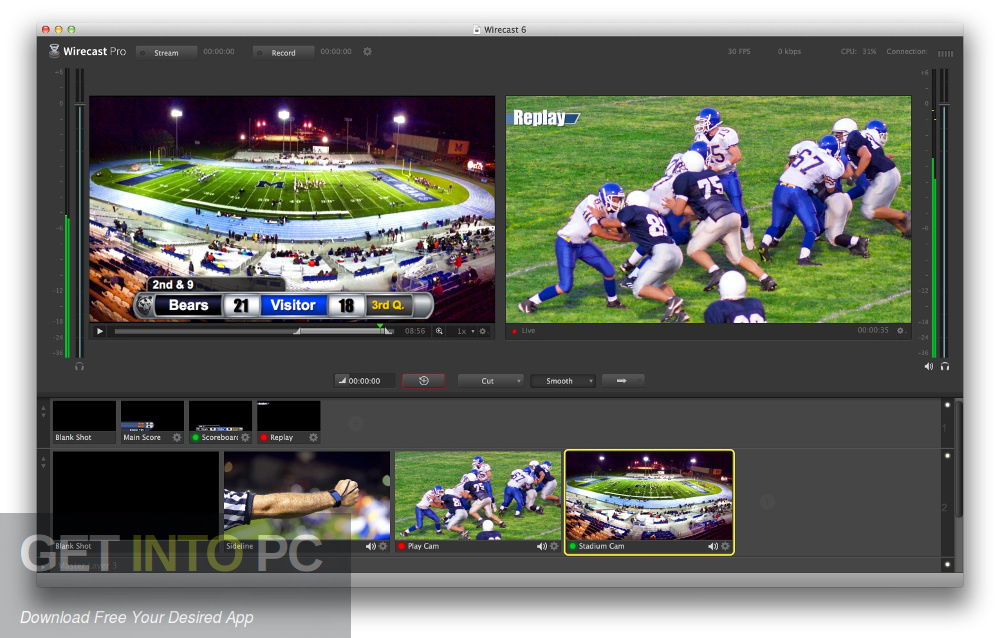 Wirecast Pro 11 Latest Version Download-GetintoPC.com