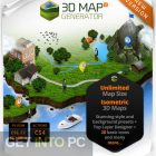 3D Map Generator Plugin Free Download-GetintoPC.com