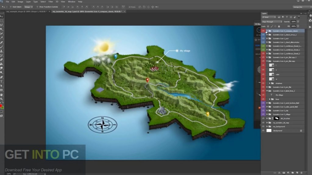 3d map generator atlas photoshop plugin free download