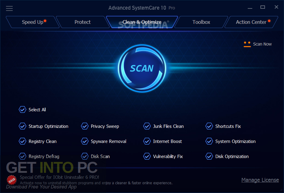Advanced SystemCare Pro 12 Offline Installer Download-GetintoPC.com