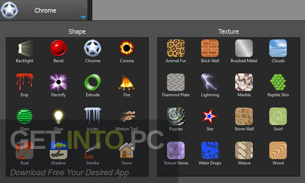Alien Skin Eye Candy Photoshop Plugin Offline Installer Download-GetintoPC.com
