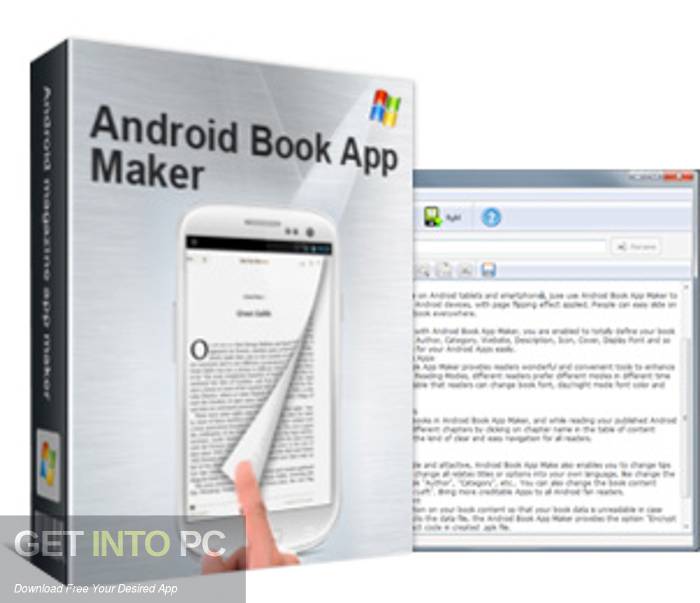 Android Book App Maker Professional Free Download-GetintoPC.com