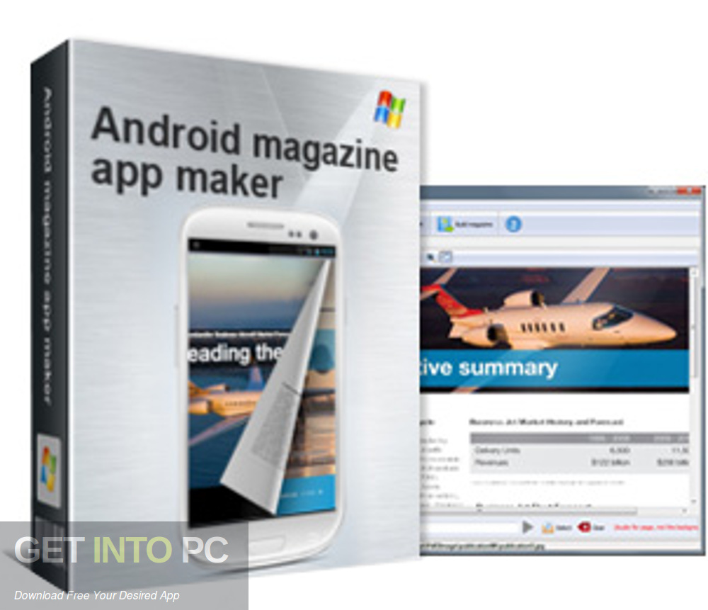 Android Magazine App Maker Professional Free Download-GetintoPC.com