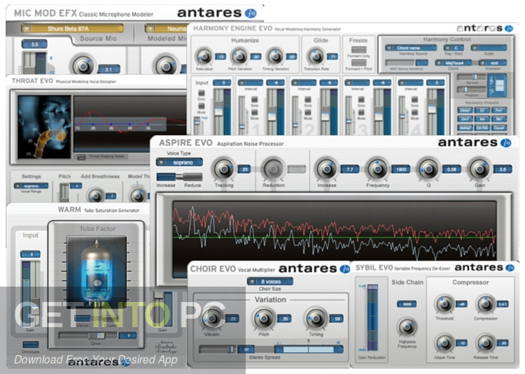 Antares AVOX Evo Vocal VST Bundle Latest Version Download-GetintoPC.com