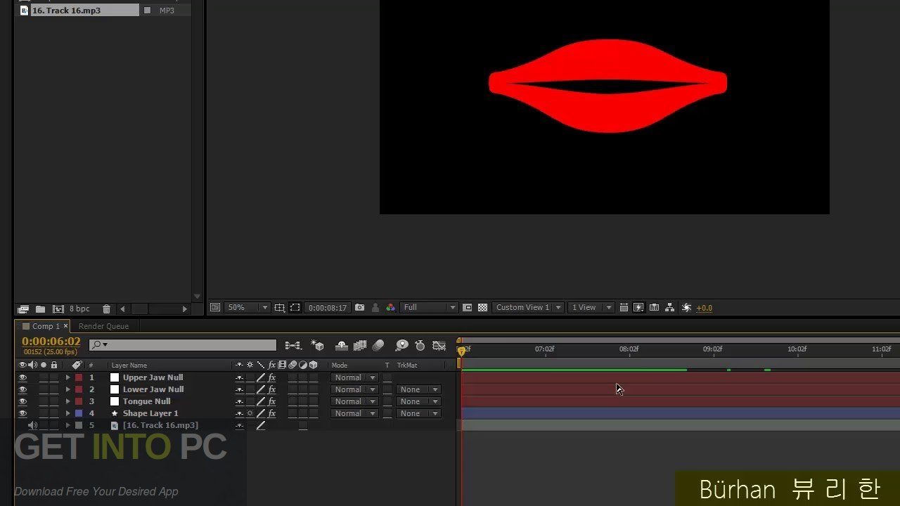 Auto Lip-Sync Script for After Effects Latest Version Download-GetintoPC.com