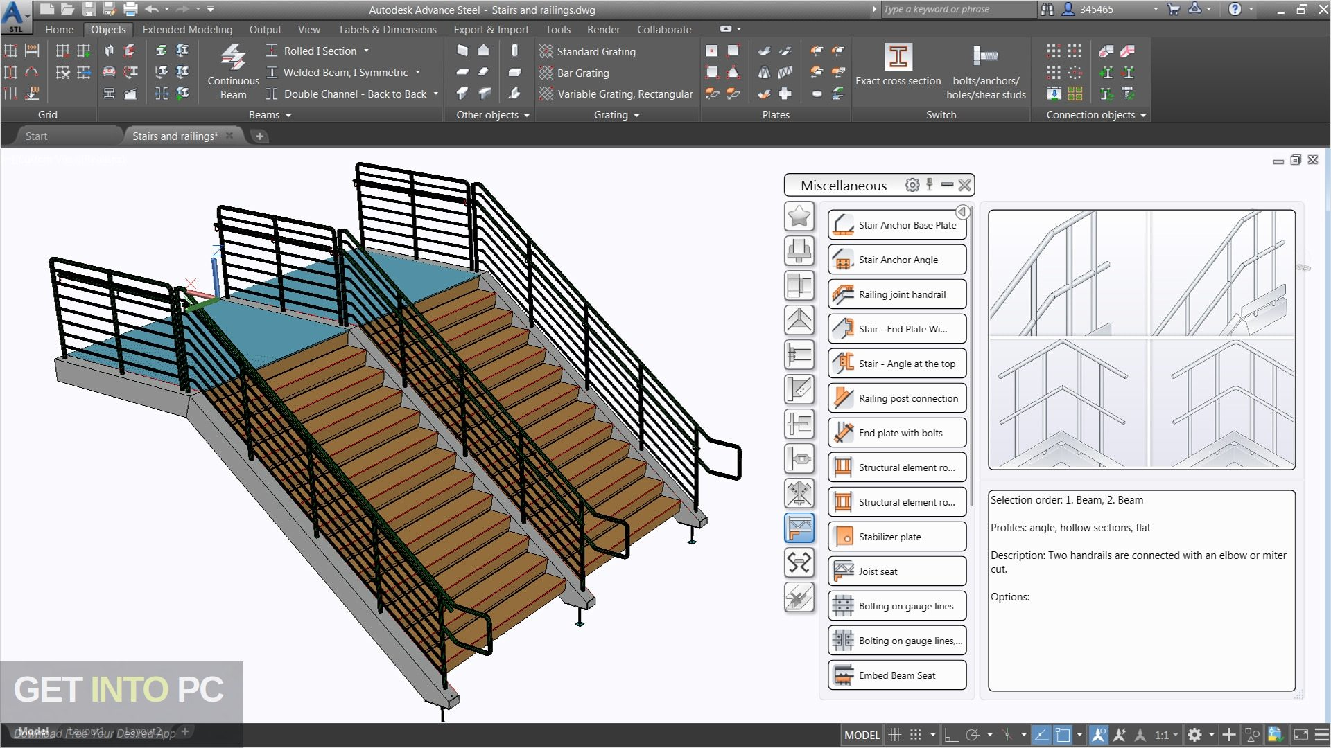 Autodesk Advance Steel 2019 Offline Installer Download-GetintoPC.com