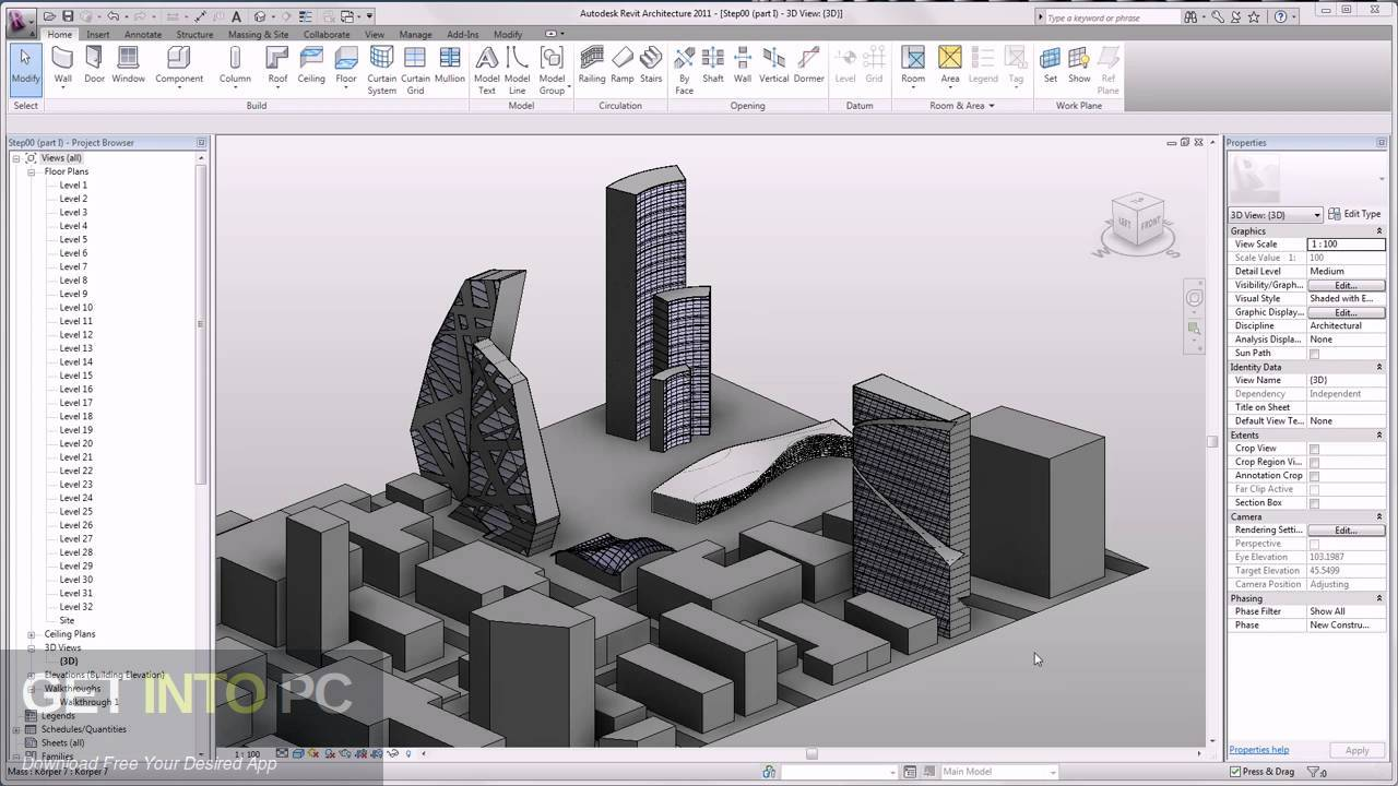 Autodesk Revit Architecture 2011 Direct Link Download-GetintoPC.com