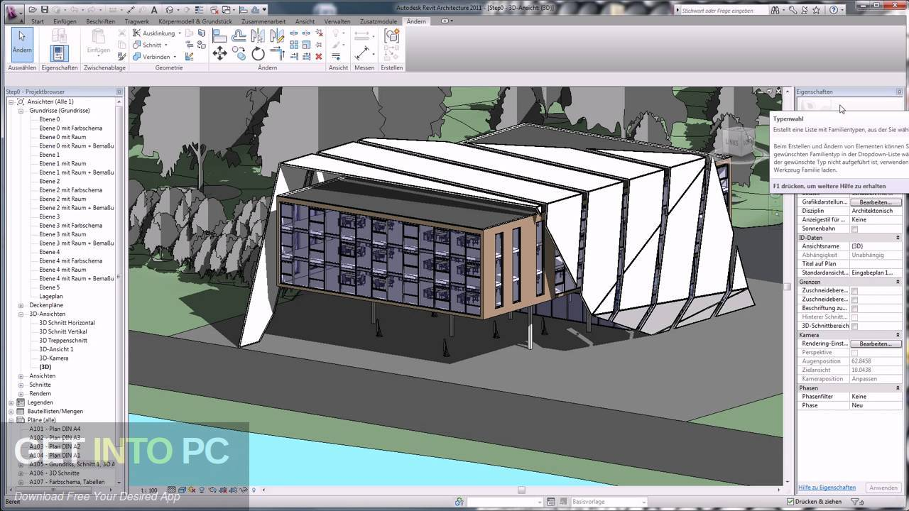 Autodesk Revit Architecture 2011 Latest Version Download-GetintoPC.com